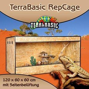 TerraBasic RepCage 120x60x60, Seitenbelüftung