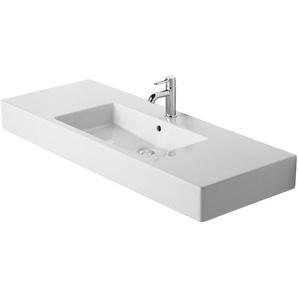 Duravit Aufsatzwaschbecken Vero 125 cm Weiß 1 Hahnloch