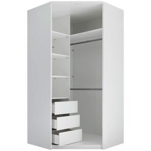 Carryhome: Eckschrank, Weiß, B/H/T 112 230 112