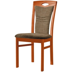 Stuhl  Cristal ¦ braun ¦ Maße (cm): B: 48 H: 100,5 T: 58 Stühle  Esszimmerstühle  Esszimmerstühle ohne Armlehnen » Höffner