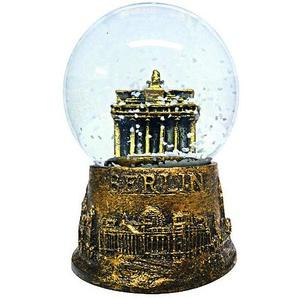 Schneekugel Berlin Brandenburger Tor gold 4,5 cm
