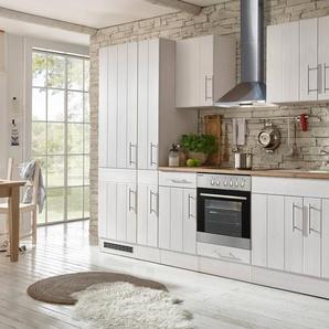RESPEKTA Komplett-Set: Küchenzeile mit E-Geräten »Ulm«, Breite 300 cm