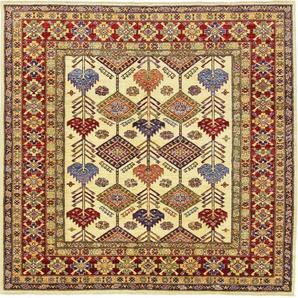 Orientteppich Super Kazak 179x186 Handgeknüpfter Teppich