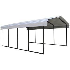 SHELTERLOGIC Einzelcarport »Neapel«, BxT: 370x610 cm, aus Stahl