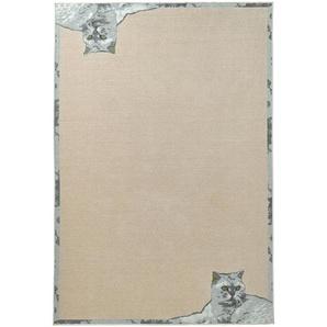 Teppich, natur, Gr. 80/150 cm,  home, Material: Polyester, Polypropylen