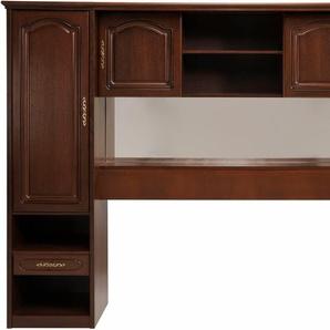 Premium collection by Home affaire Premium by Regalwand hochwertig verarbeitet mit Echtholzfurnier, wallnussfarben, »Berry«, FSC®-zertifiziert