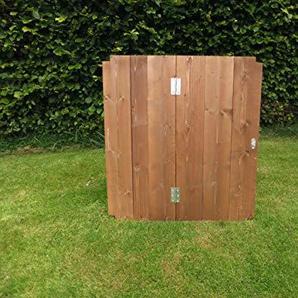 Holz Komposter Deckel - 75 cm x 72 cm x 72 cm.