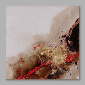 ltq & Qing (NEU)-handgemalt abstrakte quadratisch, modernes Leinwand Öl Gemälde Home Dekoration One Panel, canvas, 91 x 91 cm