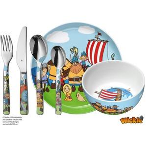 WMF Kindergeschirr 6-teilig  Wickie   mehrfarbig   Porzellan   Möbel Kraft