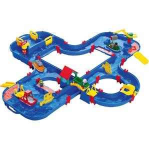 BIG Wasserbahn mit Booten, Amphibienauto und viel Zubehör, »AquaPlay AquaPlayn Go«