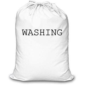 Weiß Wäschebeutel Wäsche Aufbewahrung Organisation Heim Schlafzimmer Sohn Tochter Waschen