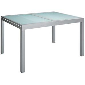Gartentisch »Lima«, Aluminium, Ausziehbar, Silber