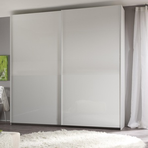 Lc Schwebetüren-Schrank, Breite 240 cm, weiß