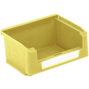 BITO-Lagertechnik Sichtlagerkasten SK Set / SK1095 85x102x 50 gelb inklusive Etikett