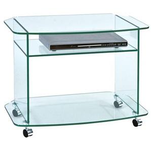 TV-Möbel FRANK Klarglas ca. 75 x 58 x 45 cm