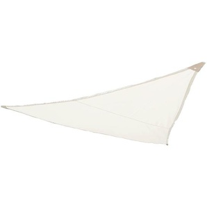 Sonnensegel Triangle, dreieckig, L:3m, hellbeige