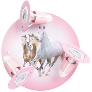 Deckenleuchte  Pferde