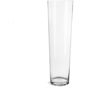 Bodenvase konisch, Glas, D:19cm x H:60cm, klar