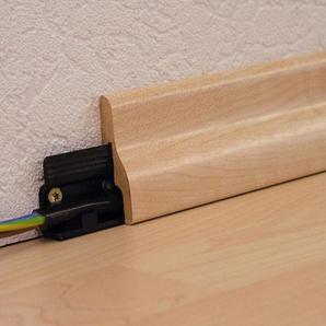 MODERNA Packung: Leisten-Befestigungsclips 12 Stück