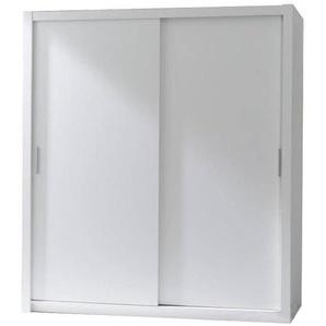 JUSTyou London 180 Kleiderschrank Garderobe Garderobensetnschrank Schlafzimmer Weiß