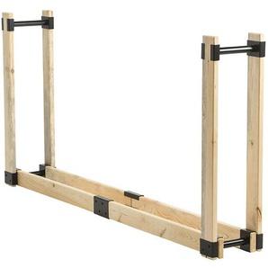 TermaTech Kaminholzregal RACK Basis 2 M, Holz