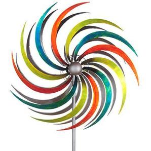 GRASEKAMP Qualität seit 1972 Windrad Garten Ibiza 3 Metall Windmühle Windfahne Windspiel