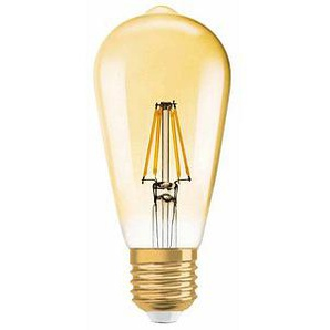 OSRAM LED-Lampe Vintage 1906 LED EDISON E27 7,5 W gold klar