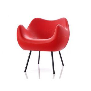 Sessel RM58 VZOR rot, Designer Roman Modzelewski, 71x70x70 cm
