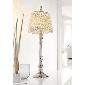 casaNOVA Teelichthalter /Windlicht H 59 FROZEN Glaskristall