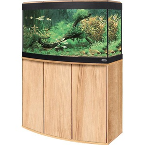 Fluval Aquarium-Kombination Vicenza LED 180 l Kernbuche