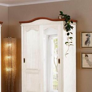 Home affaire Garderobenschrank »Konrad« aus massiver Kiefer, Höhe 207 cm
