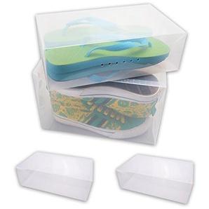 WOP ART Faltbare Schuhbox Stapel-Boy für Damenschuhe 2er Set od. als 10er Set (2er Set)