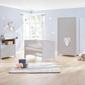 Pinolino Kinderbett »Liv« - grau - Holz -