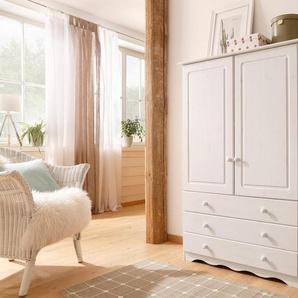 Home affaire Wäscheschrank »Minik« aus schönem massivem Kiefernholz, in unterschiedlichen Farbvarianten, weiß