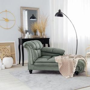 Chaiselongue grün LORMONT