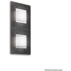 Grossmann Basic LED Wand- / Deckenleuchte, 2-flg., Abverkaufsware