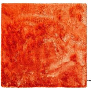 Hochflorteppich Whisper Orange 150x150 cm