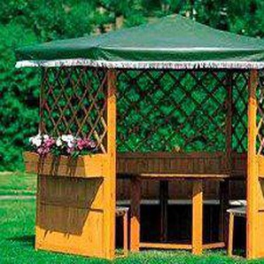 PROMADINO Pavillon-Set »Marburg«, BxT: 309x309 cm