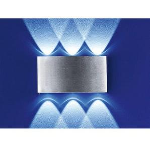 B-Leuchten In+Outdoor LED Wandlampe IP54 STREAM Edelstahl