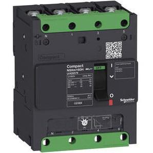 SCHNEIDER ELECTRIC Leistungsschalter NSXm 16 A TM16D 4P/4T 16kA/415V Sammelschiene