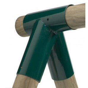 Rohrverbindungsstück rund grün Ø100/80mm