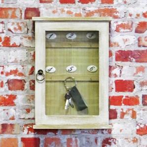 Schlüsselschrank natur, 28 x 40 cm