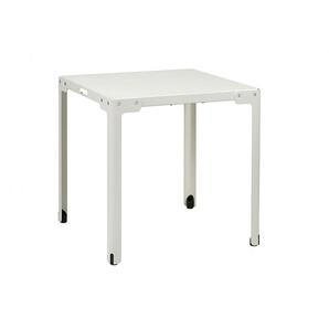 Tisch T-Table Functionals weiß, Designer Christoph Seyferth, 73x70x70 cm