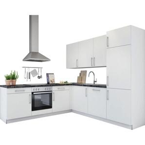 set one by Musterring Winkelküche »Navaro«, ohne E-Geräte, Stellbreite 245 x 245 cm, vormontiert