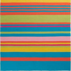 Biederlack Plaid »Colour Blocking«, 130x180 cm, bunt, aus 100% Baumwolle