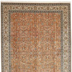 Orientteppich Kaschmir Reine Seide 343x248 Handgeknüpfter Teppich