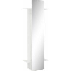 Schildmeyer Garderobenpaneel, mit Spiegel, weiß