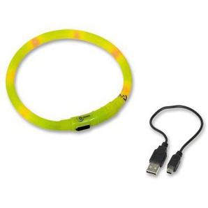 Nobby LED Lichtschlauch Visible, gelb, Länge: 40 cm; Durchmesser 10 mm