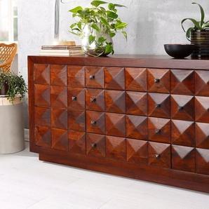 Home affaire Sideboard »Diam«, aus massivem Akazienholz, Breite 170 cm