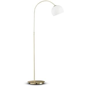 Honsel Stehlampe ,Gold ,Glas